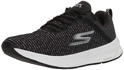 Skechers Womens Go Run Forza 3 Black/White 8.5 B - Medium