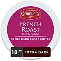 72-Pack Community Coffee French Roast Extra Dark Roast Coffee Cups