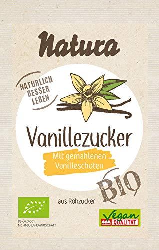 NATURA Bio Vanille-Zucker mit Rohzucker 5er-Pack, 40 g