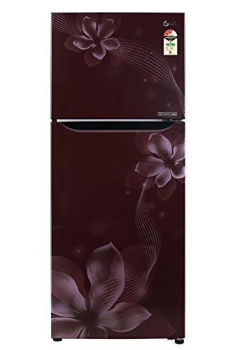 LG 260 L 3 Star ( 2019 ) Frost Free Double Door Refrigerator(GL-C292SSOU.ASOZEBN, Scarlet Orchid, Inverter Compressor)
