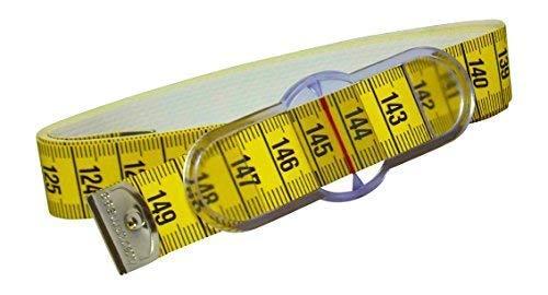 HOECHSTMASS easy check: Umfang-Maßband / Taillenmaßband mit Messschieber- bis 150cm Länge   Bandmaß messen nähen Schneiderei - deutsches Markenprodukt mit Präzisionsskala - made in Germany