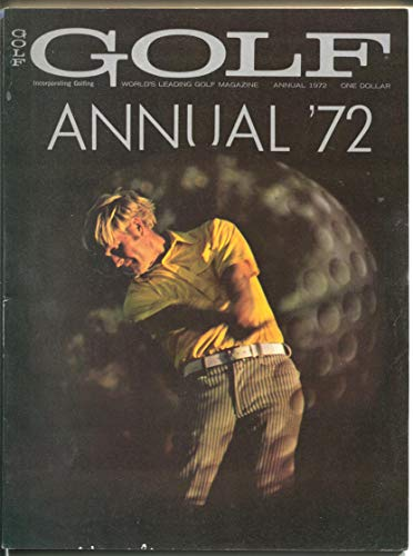 Golf Annual 2/1972-tournaments-instruction-Jack Nicklaus cover-FN