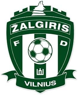 Vmfd Zalgiris Vilnius - Lithuania Football Soccer Futbol - Car Sticker - 5