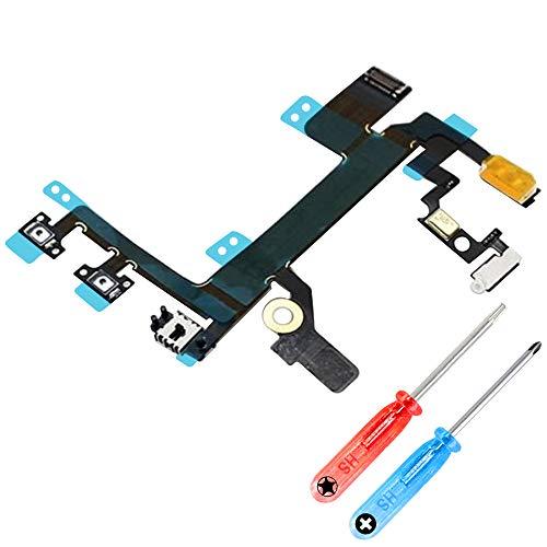 MMOBIEL Lautstärke Volume Flex Kabel kompatibel mit iPhone SE / 8 Series 4.7 inch inkl. 2 x Schraubenzieher