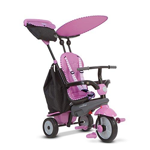 SMARTRIKE - Triciclo Shine, Color Rosa (2036402202)
