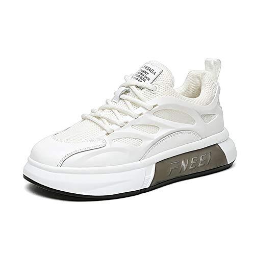Zapatos Deportivos para Mujer, Antideslizantes, Negro, Blanco, cómodos, Casuales, Color sólido, Resistentes al Desgaste, Zapatillas de Primavera y otoño