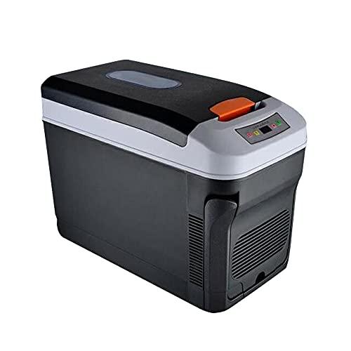 Kit mini frigo a doppio uso domestico e auto, 35 l, per auto, frigorifero e congelatore, scatola di raffreddamento refrigerante, refrigeratore di conservazione degli alimenti compressori