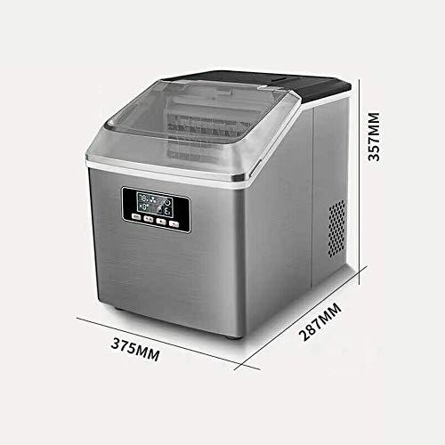 415bltidR6L - SEESEE.U Eismaschine, quadratische Eiswürfel in 12-20 Minuten fertig, 25 kg EIS in 24 Stunden herstellen, tragbare kleine Eiswürfelbereiter für Arbeitsplatte Home Bar Perfekt für Partys Mixgetränke