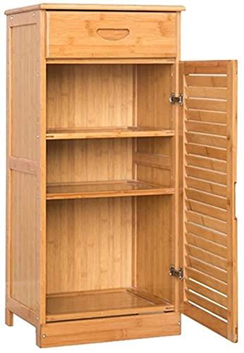 Inicio Equipos Gabinete de zapatos de bambú de varias capas Madera maciza Rack de almacenamiento de zapatero moderno simple Porche Gabinete de pasillo multifunción Taburete para cambiar zapatos (Ta