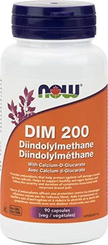 NOW DIM 200mg w/ d-Glucarate 90vcap