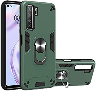 SDDLRM Case & Cover For Huawei Nova 7 SE Case with Metal Ring, Phone Case with Kickstand 360 Degree Rotating [Vertical & H...