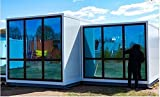 Prefabricated Container Solar House Economic Modular Home 40 hc