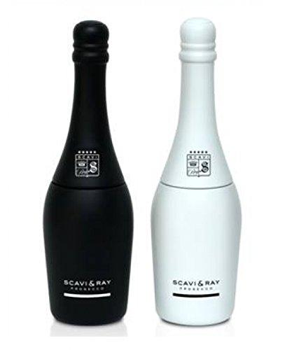 Scavi & Ray Salt & Pepper Mill Set, zwart & wit