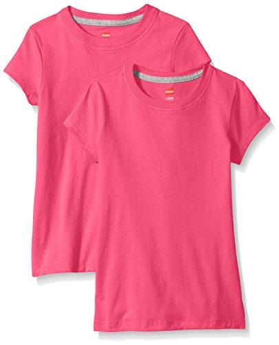 Hanes Little Girls' Jersey Cotton T…