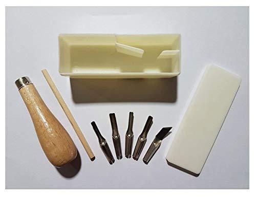 EMI Craft Set taglierini per Linoleum, 5asst