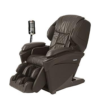 Panasonic MAJ7 Real Pro Ultra Premium 3d Luxury Full Body Heated Massage Recliner Chair Brown