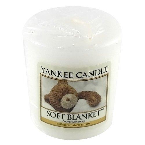 YANKEE CANDLE SAMPLER CANDELA VOTIVE SOFT BLANKET