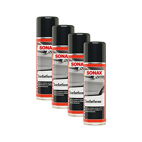 SONAX 4X 03342000 TeerEntferner Ölfleck Teerfleck Entferner 300ml