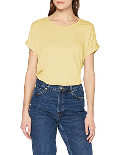 ONLY Womens ONLMOSTER S/S O-NECK TOP NOOS JRS T-Shirt, Gelb(Pineapple Slice)