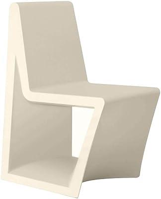 Vondom Rest Chair for Outdoor Ecru