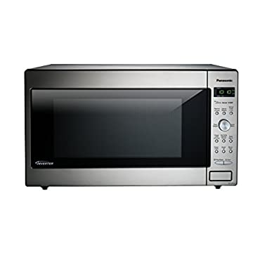 Panasonic NN-SD945S Countertop/Built-In Microwave with Inverter Technology, 2.2 cu. ft., 1250W, Stainless