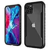 Zapdaz Compatible with iPhone 12 Mini Case, Shockproof Phone Case TPU & Metal Rugged Bumper,Tough Clear Back Anti Scratch [Military Grade Drop Protective Cover] Armor for 12 Mini 5.4 inch (2020)