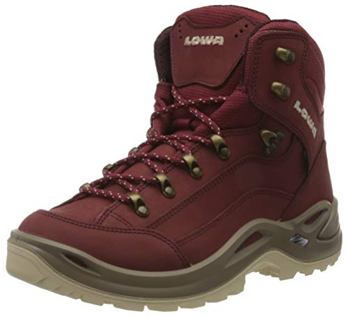 Lowa Womens Renegade GTX MID WS Ankle Boot, Cayenne