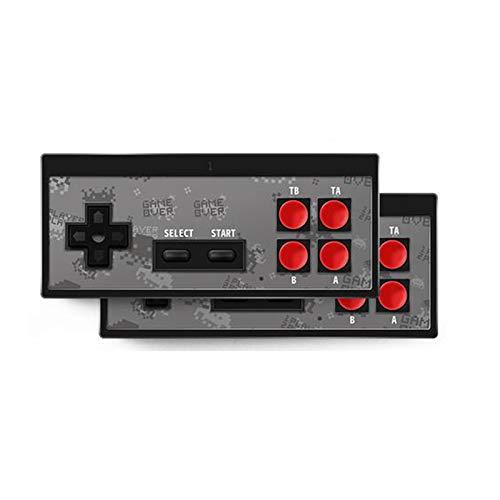 Consola de juegos retro, consola de videojuegos 4K HDMI 568 juegos clásicos incorporados, mini consola retro Controlador de gamepad...