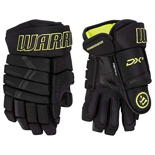 Warrior Alpha DX SE Handschuh Senior, Größe:14 Zoll, Farbe:schwarz/gelb