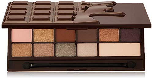 Makeup Revolution I Heart makeup palette con ombretti–Wonder Palette–Death by Chocolate, 22g
