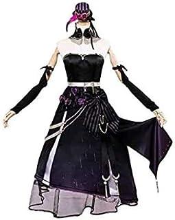 永恒乐园_cos軽巡洋艦 リアンダー級 エイジャックス 一周年 ドレス コスプレ用衣装 cosplay (女性, L)