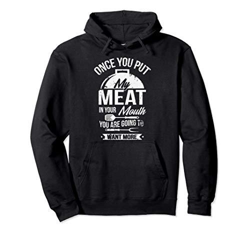 Pon mi carne en tu boca Sudadera con Capucha