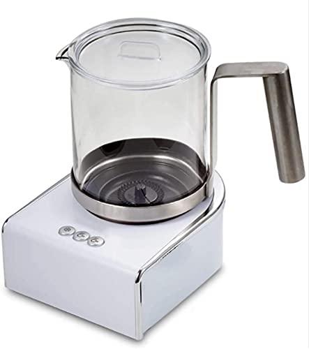 Espumador Leche Milk Frother Calentador De Leche Batidora Leche Espuma Calienta Leche Electrico Espumador de leche automático 3 en 1 y máquina para hacer chocolate caliente y calentador con funciona