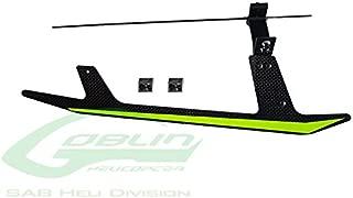 SAB Heli Division SAB Carbon Fiber Landing Gear Set - Goblin Black Thunder