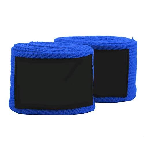 Kadimendium Elastische Handbandagen Hand Wrap Faust Handgelenkschutz für Kinder Kinderspielzeug Geschenk für Sporttraining(Blue)
