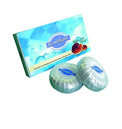 2 Box (4 Bar) Gano Excel Gano Soap with Ganoderma and Goat Milk