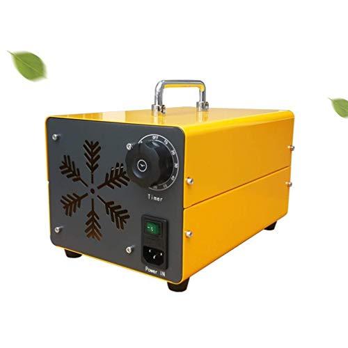 Raxinbang Purificador de Aire Ozono Generador Comercial, O3 Móvil Purificador De Aire Esterilizador con Temporizador Desinfección Máquina For El Hogar, Coches, Mascotas, Humo