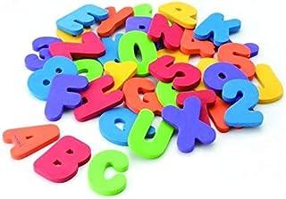 Foam Bath Toys Preschool Alphabet - Best Baby Bath Toys Toddlers Girls Boys - Premium Educational Floating Bathtub Toys - ...