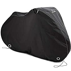 cheap XL Aero Bike Cover, Suitable for 2 Bicycles – Waterproof Outdoor Bicycle Cellar – Heavy Duty…