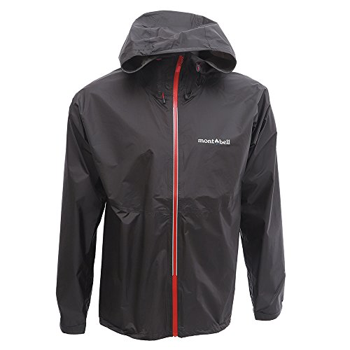 モンベル mont-bell バーサライトジャケット メンズ レインウェアージャケット(男性用登山用雨具 雨カッパ) 1128592_M_ガンメタル(GM)