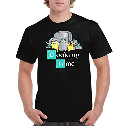 Camiseta de Hombre Hora de Aventuras Jake Finn Breaking Bad 007 5XL