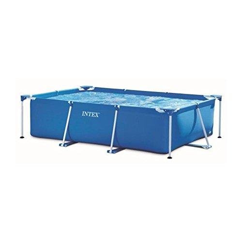 Intex 28275FS Rechteckiger Metallrohrrahmen Junior, 3,8 m3