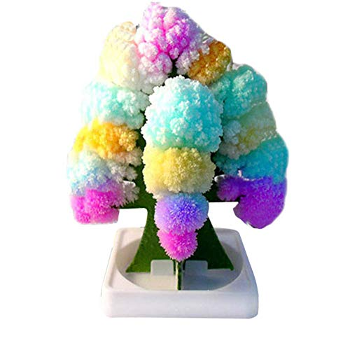 Valigrate Christmas Paper Tree Toy, Magic Growing Tree Crystal Toys, Magic Decoration Ornament for Children Kids Home Holiday