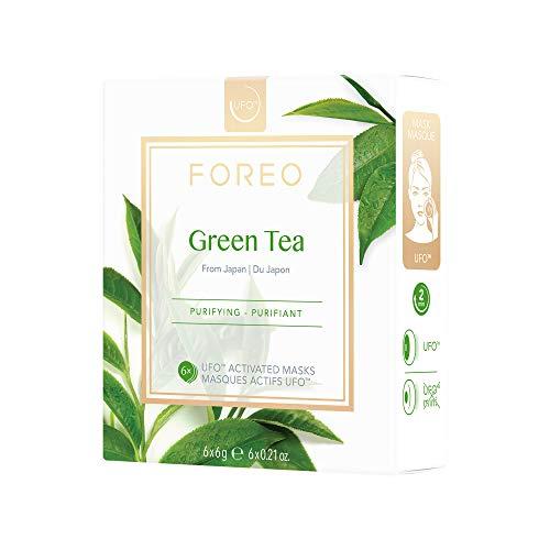 Mascarilla activa UFO Green Tea, de FOREO - pack de 6 unidades