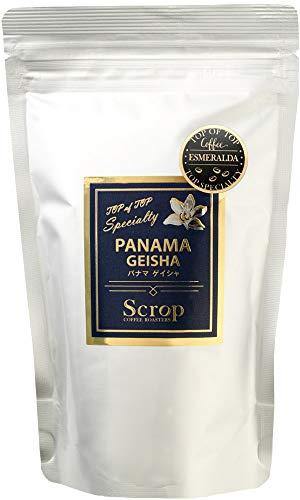 【厳選 コーヒー豆】Scrop パナマ エスメラルダ農園 ゲイシャ ミディアムロースト 中煎り 100g (豆のまま)