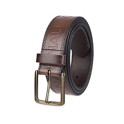 Nautica Men's Casual Belt, brown emboss, 42