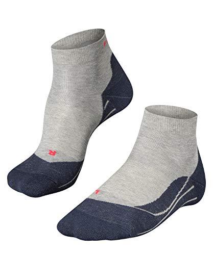 FALKE - Running-Socken für Herren in Grau (Light Grey 3406), Größe 42-43
