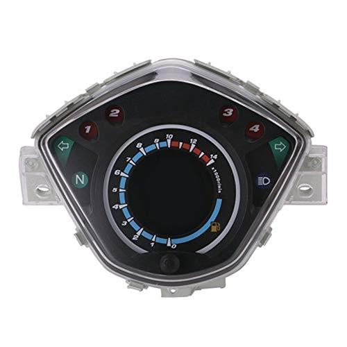 CAIZHIXIANG Medidor de la Motocicleta de Instrumentos LCD Digital tacómetro velocímetro cuentakilómetros for Y-a-m-a-h-una Pantalla de Color de 7 Lc135