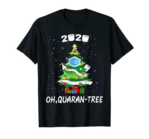 Funny Snowy 2020 - Máscara decorativa para árbol de Navidad Camiseta ✅