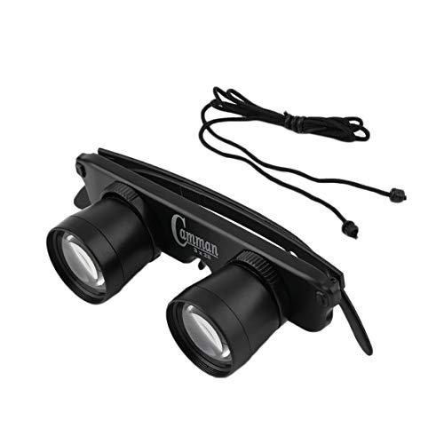 Heaviesk 3 In 1 3x28 Lupe Brille Stil Teleskop Outdoor Angeln Optics Fernglas Angeln Game Watching Tackle Gerät
